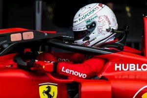 F1 | ベッテル6番手「予選はうまくいかなかったがレースペースは問題ない。レッドブルと戦える」フェラーリ F1イギリスGP