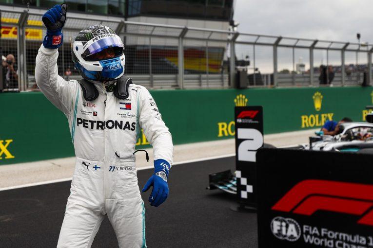 F1 | ボッタスが0.006秒差でポール獲得「このグリッドを必ず優勝につなげたい」:メルセデス F1イギリスGP