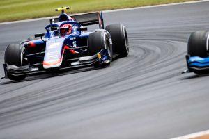 海外レース他 | FIA-F2第7戦イギリス レース2:エイトケンが母国ファンの前で歓喜。松下も終盤に順位を上げ連続入賞