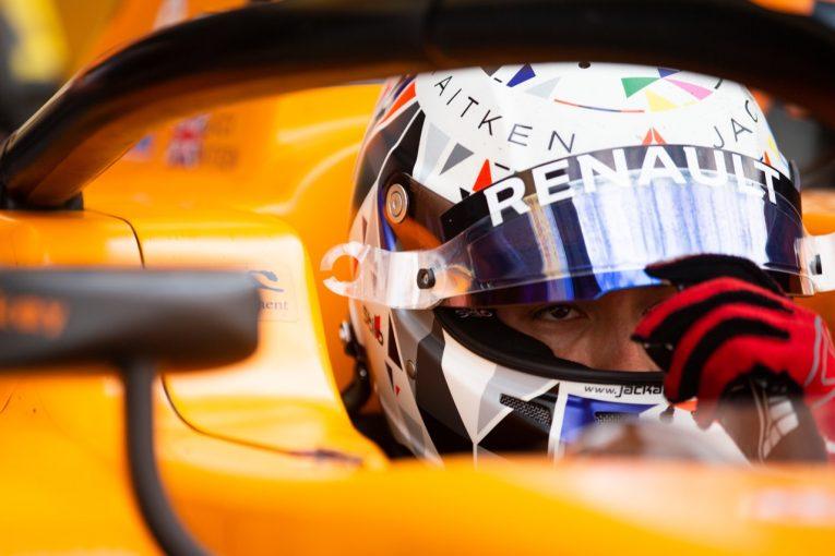 海外レース他 | FIA-F2第7戦イギリス レース2:エイトケンが母国ファンの前で歓喜。松下は終盤に順位を上げ連続入賞