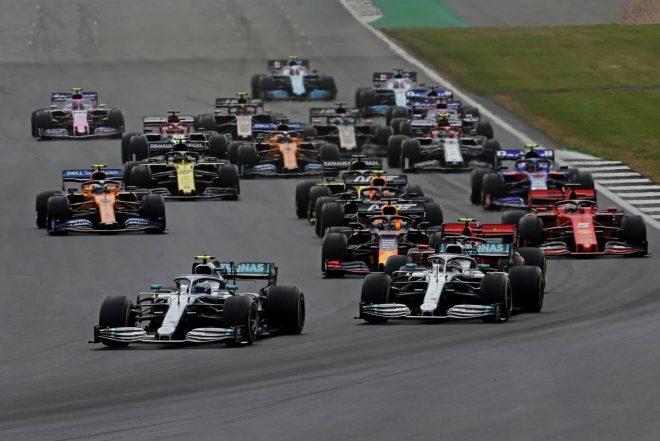 2019年F1第10戦イギリスGP決勝レーススタート