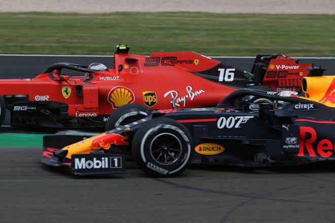 2019年F1第10戦イギリスGP シャルル・ルクレール、マックス・フェルスタッペンのバトル