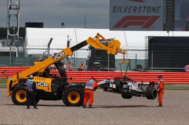 2019年F1第10戦イギリスGP アントニオ・ジョビナッツィ(アルファロメオ)