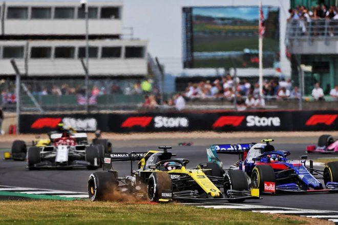 2019年F1第10戦イギリスGP ダニエル・リカルド(ルノー)