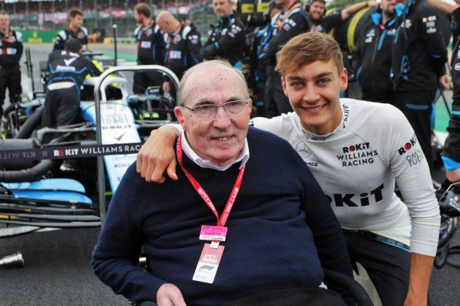 2019年F1第10戦イギリスGP フランク・ウイリアムズ代表、ジョージ・ラッセル