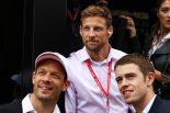 2019年F1第10戦イギリスGP アレクサンダー・ブルツ、ジェンソン・バトン、ポール・ディ・レスタ