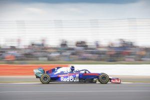 2019年F1第10戦イギリスGP日曜 アレクサンダー・アルボン(トロロッソ・ホンダ)