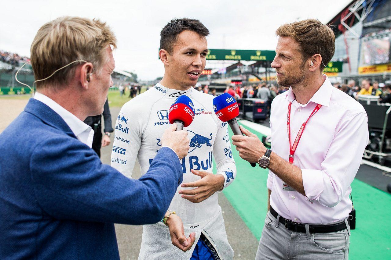2019年F1第10戦イギリスGP日曜 トロロッソ・ホンダのアレクサンダー・アルボン