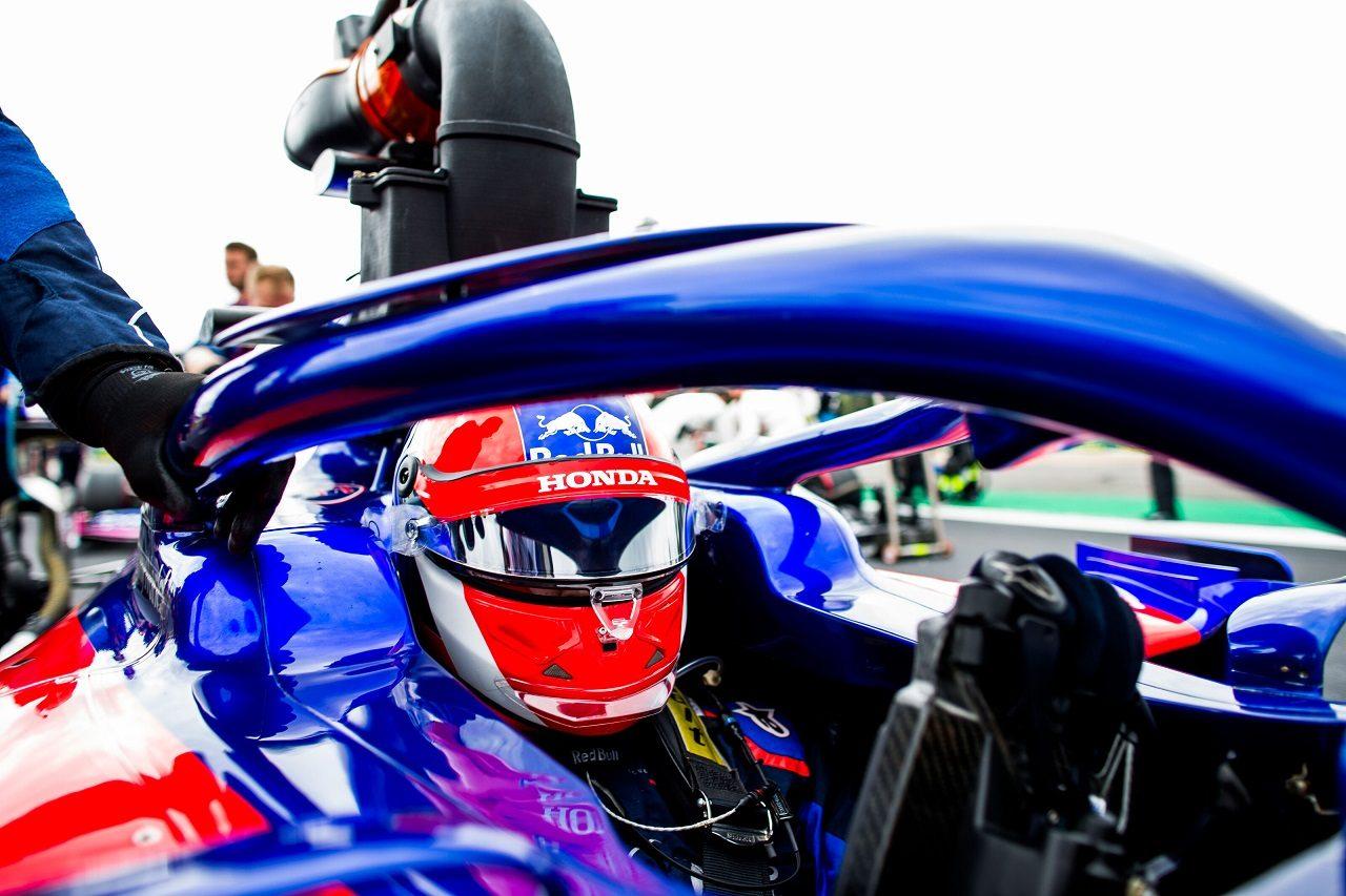 2019年F1第10戦イギリスGP日曜 ダニール・クビアト(トロロッソ・ホンダ)