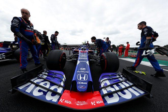 2019年F1第10戦イギリスGP アレクサンダー・アルボン(トロロッソ・ホンダ)