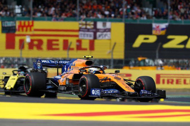 2019年F1第10戦イギリスGP ランド・ノリス(マクラーレン)