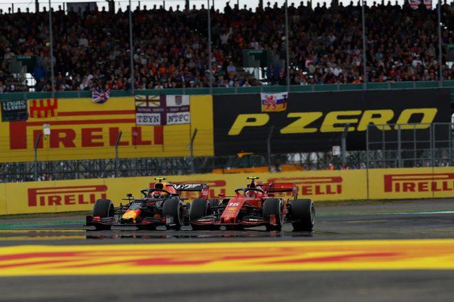2019年F1第10戦イギリスGP ピエール・ガスリーとシャルル・ルクレールのバトル