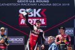 MotoGP | ドゥカティのデイビスがSBK第9戦アメリカで2019年シーズン初優勝。バウティスタは3レースでノーポイントに終わる