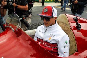 F1 | ライコネン、3戦連続入賞「トロロッソのクビアトと戦って必死に8位を守った」:アルファロメオ F1イギリスGP