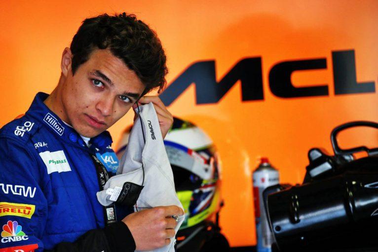 F1 | ノリス「ピットインしなかったことは最善の選択ではなかったかも。来年戻ってくるのが楽しみ」:マクラーレン F1イギリスGP日曜