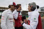 F1 | ジョビナッツィ「トラブルの原因はまだわからない。入賞圏内に入れるはずだった」:アルファロメオ F1イギリスGP日曜