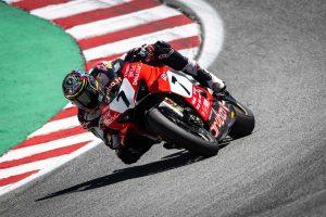 MotoGP | ドゥカティ、SBK第9戦アメリカで分かれた明暗。1年半ぶりの勝利に湧くデイビス、左肩負傷のバウティスタ