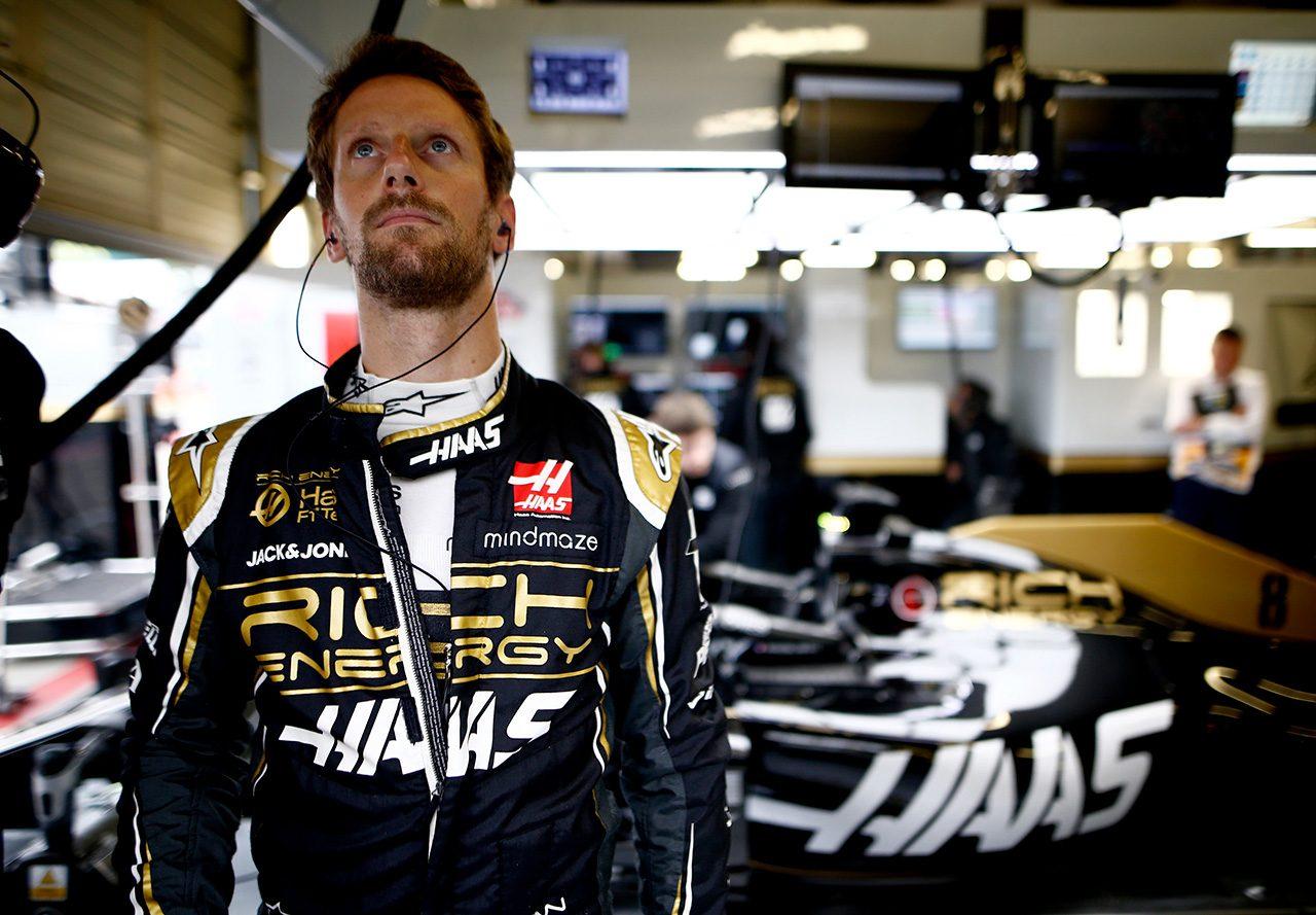 2019年F1第10戦イギリスGP ロマン・グロージャン(ハース)