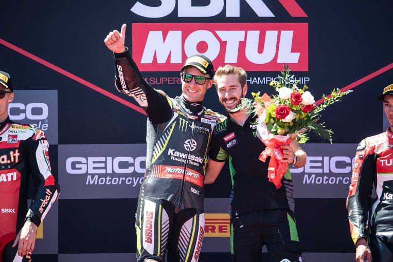 MotoGP | SBK第9戦アメリカで2勝のレイ、バウティスタとのポイント差を81に拡大。「本当にすばらしい週末」