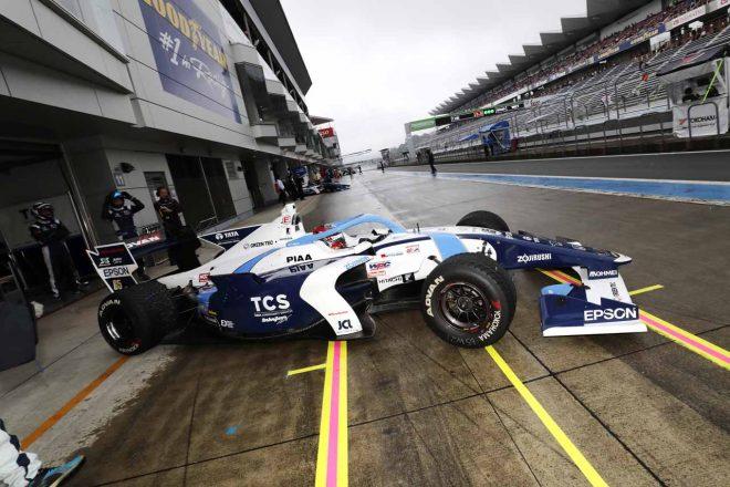 予選Q3でトラブルのためアタックができなかった牧野任祐(TCS NAKAJIMA RACING)