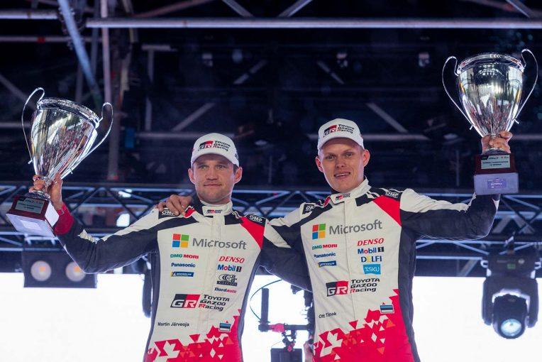 ラリー/WRC | 4メーカー集結のラリー・エストニアでトヨタのタナク圧勝。勝田貴元は新車のトラブルに泣く