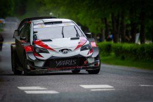 ラリー/WRC | リーヒマキ・ラリーを戦った勝田貴元(トヨタ・ヤリスWRC)