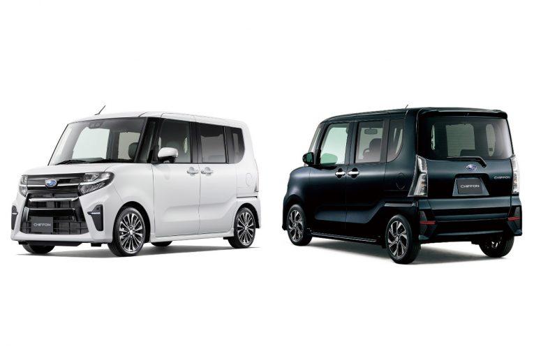 クルマ   スバル車初の新スマートアシスト採用。新型シフォン、7月25日発売