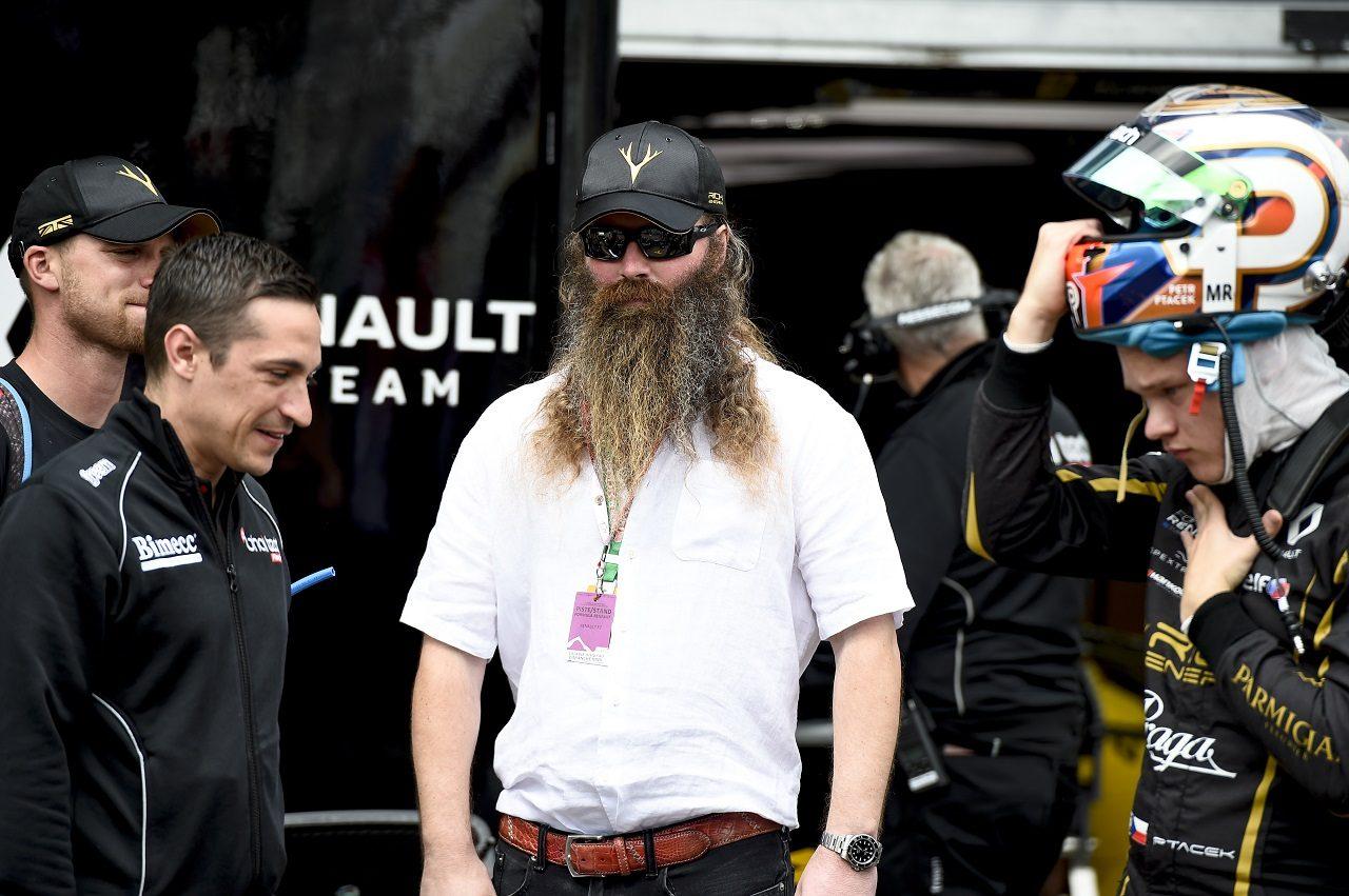 ハースF1チームのタイトルスポンサー、リッチ・エナジーのCEOウイリアム・ストーリー