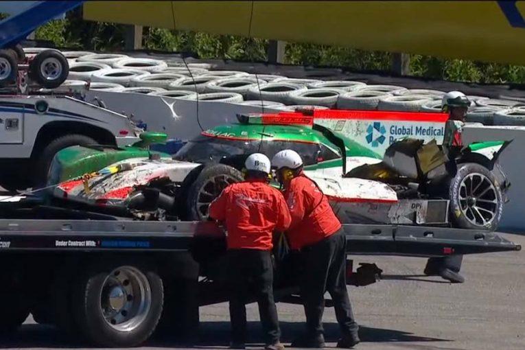ル・マン/WEC | IMSA:キャデラックDPi全損のユンコス・レーシング、スペアシャシーで次戦出場へ