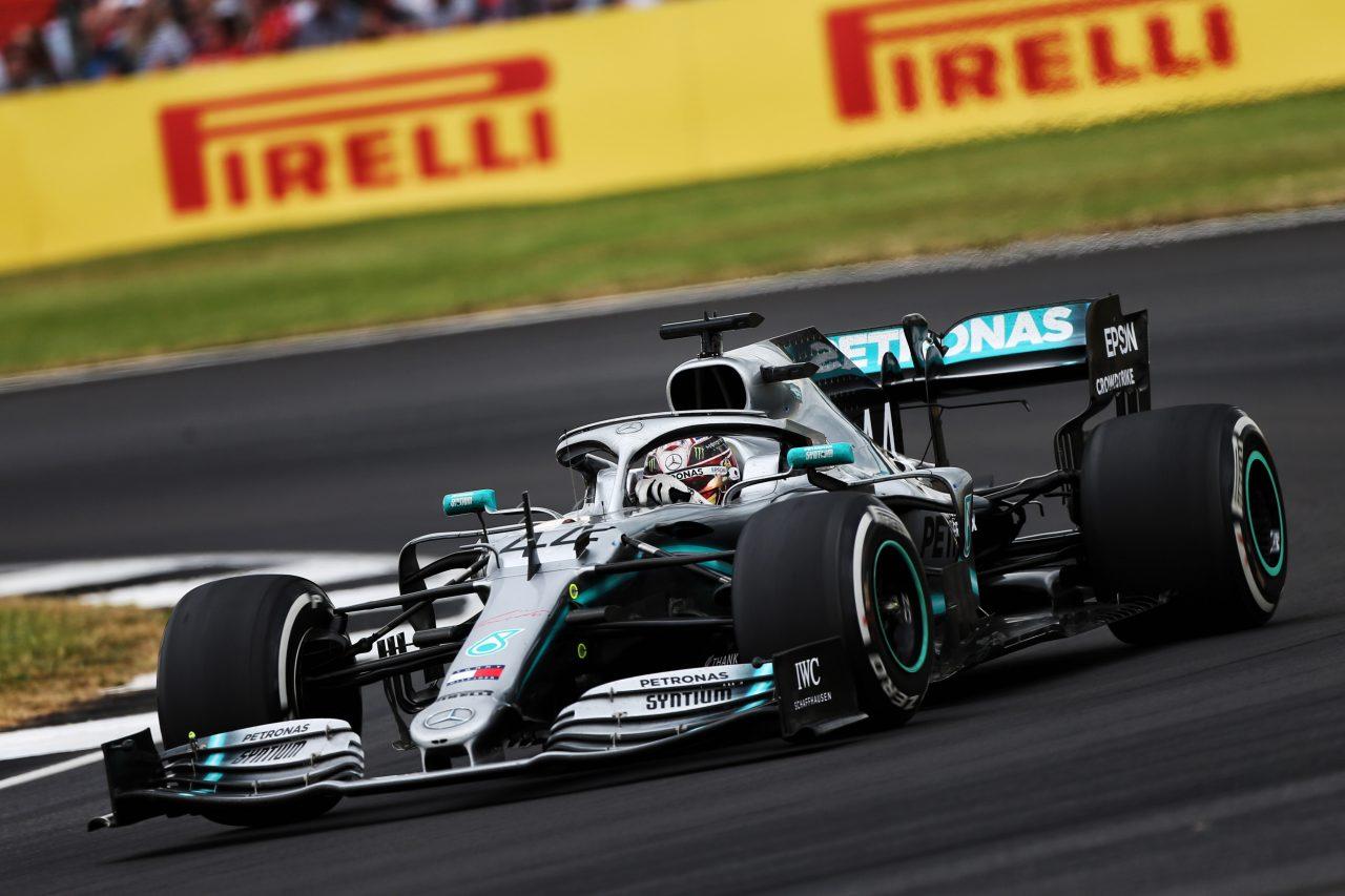 2019年F1イギリスGPでのハミルトン