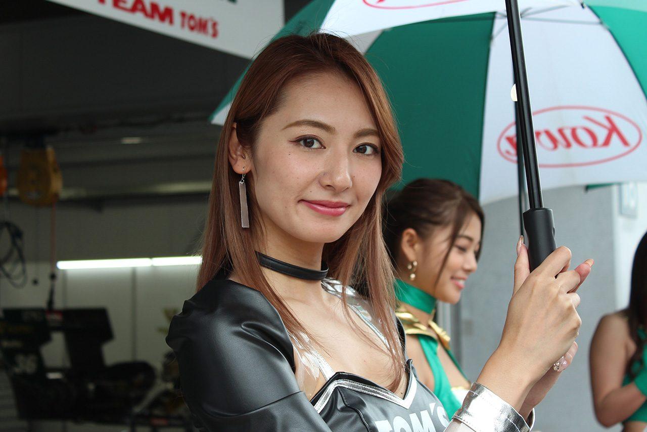 スーパーフォーミュラ第4戦富士 近藤みやび(TOM'S lady)