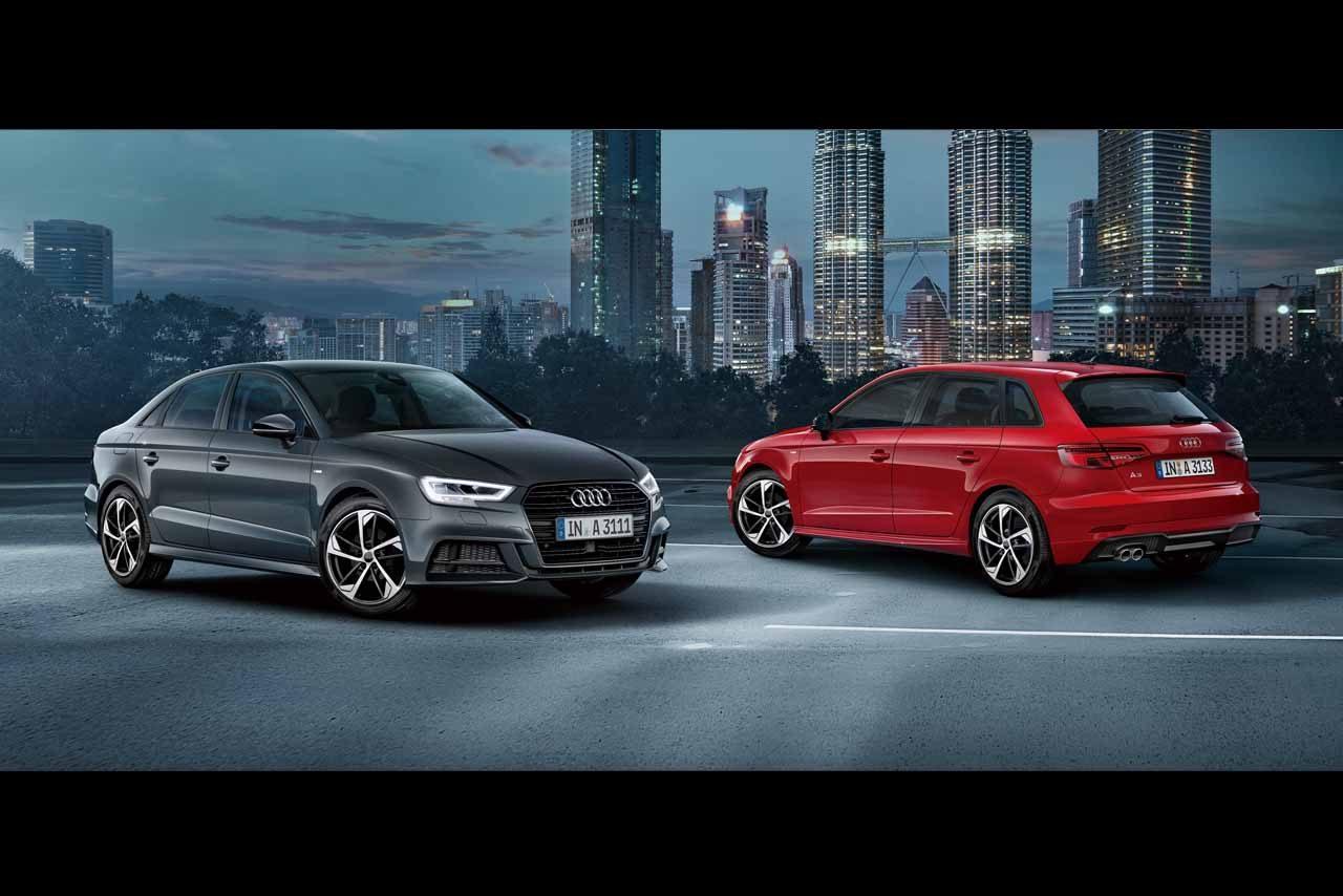 アウディ、A3とQ2に台数限定モデルを設定し発売。ブラックをアクセントにして機能面も充実