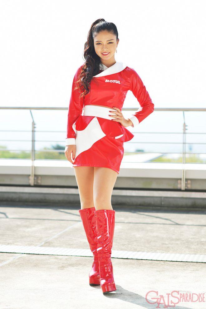 レースクイーン   柚浦桃(MOTUL Circuit Lady)