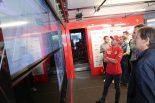 F1第10戦イギリスGP記者会見後はウインブルドンにくぎ付けとなったセバスチャン・ベッテル