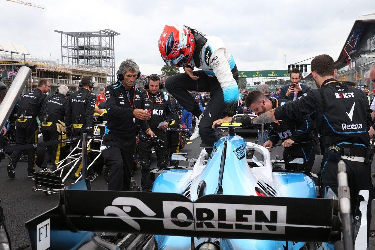 2019年F1イギリスGP ロバート・クビサ(ウイリアムズ)