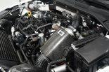フォルクスワーゲン・ゴルフGTI TCRのエンジンルーム。BMC製の巨大なエアフィルターが目を引く。