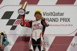 開幕戦カタールでグランプリ初優勝を達成した鳥羽海渡(Honda Team Asia)