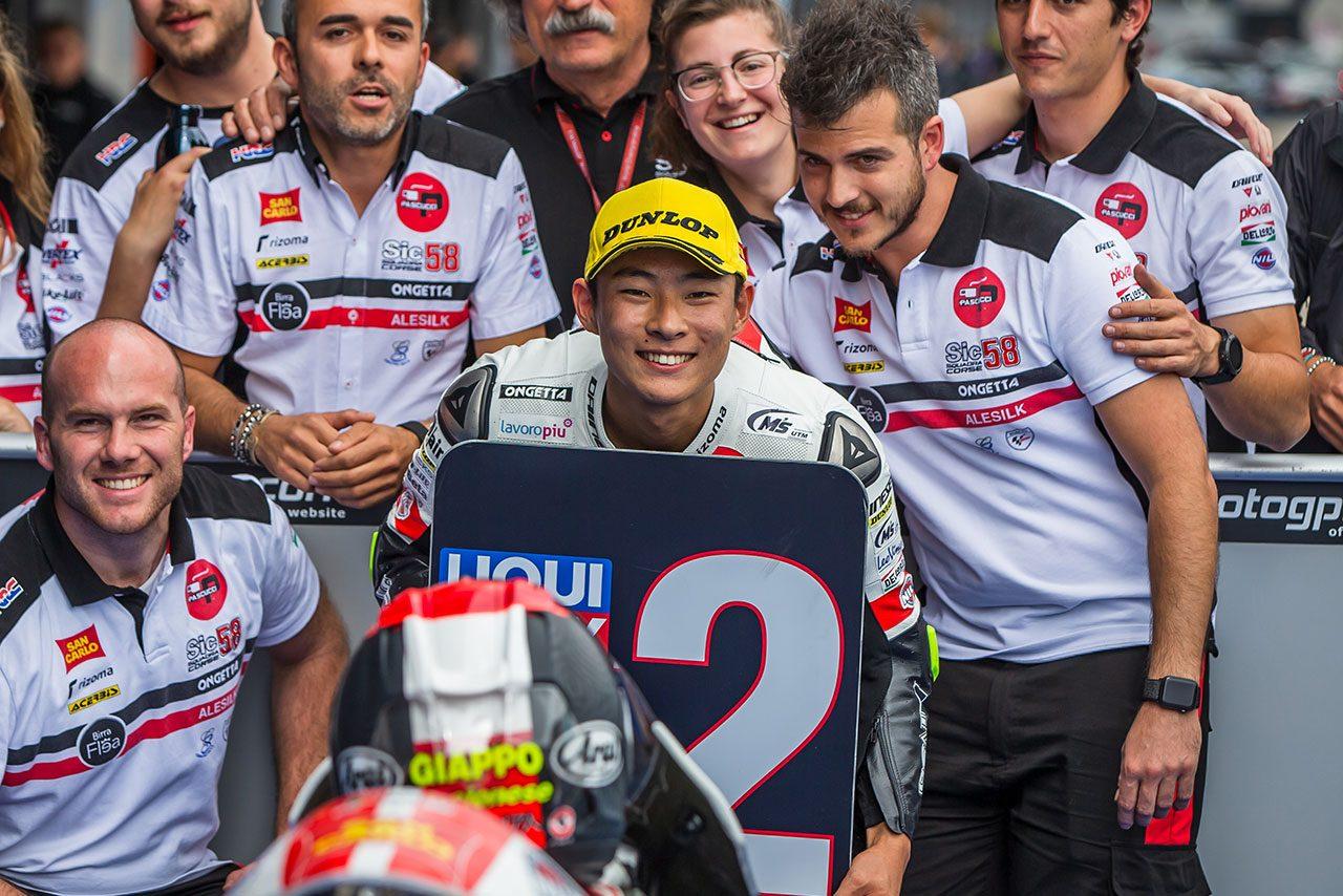 MotoGP:12年ぶり優勝に18年ぶり予選ワン・ツー。小排気量クラスで頭角を表し始める若手日本人ライダーたち