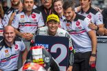 第4戦スペインGPでグランプリ初表彰台に立った鈴木竜生(SIC58 Squadra Corse)