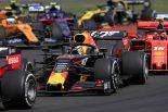 2019年F1第10戦イギリスGP マックス・フェルスタッペン(レッドブル・ホンダ)は5位入賞