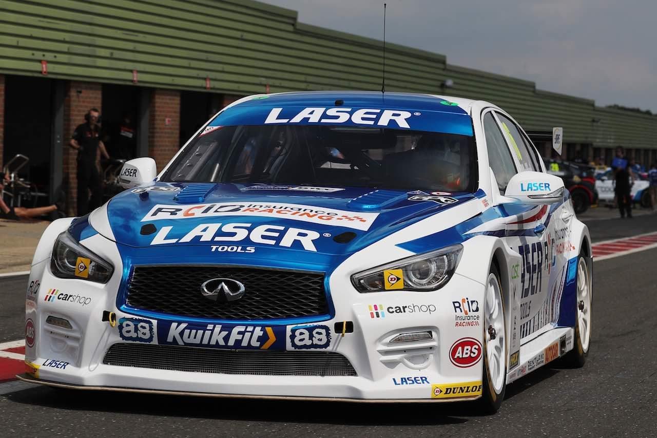 BTCC:タイヤテストは好調フォード・フォーカスRSが連日最速。インフィニティも初登場