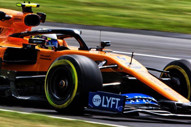 2019年F1イギリスGPでのランド・ノリス