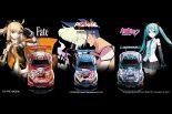 スーパーGT | スパ24時間:『Fate』だけじゃない! グッドスマイル、ブラックファルコンと組み3台のジャパンデザインを採用