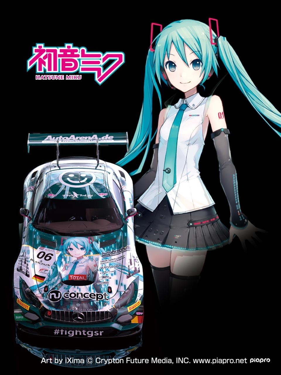 『Fate』だけじゃない! GOODSMILE RACING、ブラックファルコンと組み3台のジャパンデザインを採用