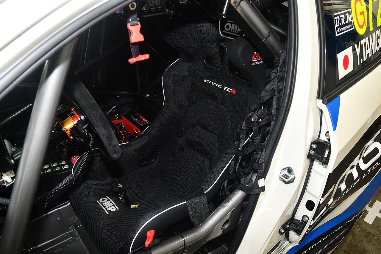 TCRJマシン紹介(2):「とても良くできたレーシングカー」。ホンダ・シビック・タイプR・TCR