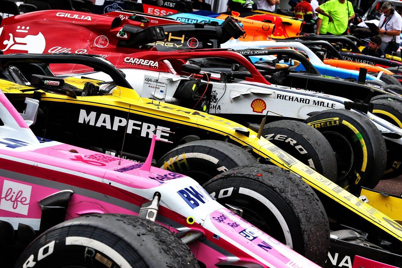 2019年F1モナコGPパルクフェルメ