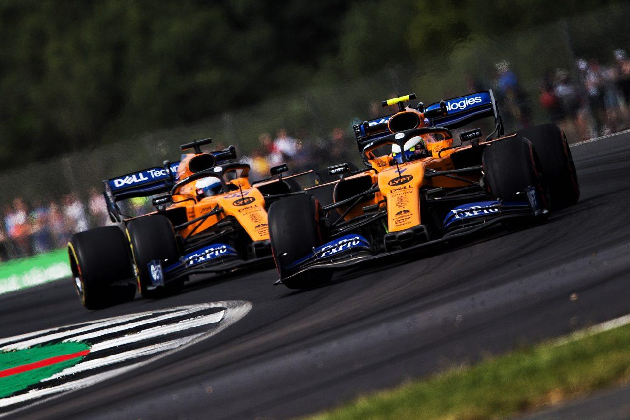 2019年F1イギリスGPでののリストサインツJr.