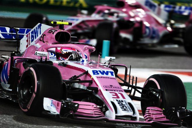 チームは2018年は途中から「レーシング・ポイント・フォース・インディア」として出場していた