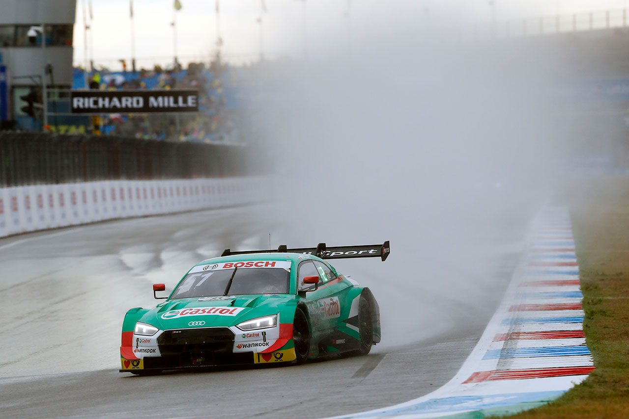 DTM第5戦アッセン:大雨のレース1はウィットマンが制しチャンピオン争いに踏みとどまる
