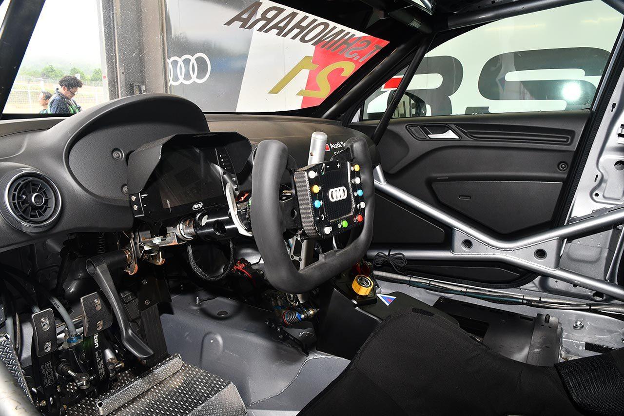 TCRJマシン紹介(3):高い安定感とパワーが売り。アウディRS3 LMS TCR